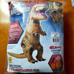Jurassic World- Inflatable T-Rex Adult Costume
